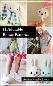 11 bunny sewing patterns you u0027ll love