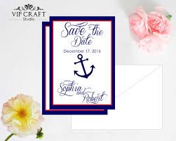 save the date card amazing navy save the date cards set of 10 vip craft studio