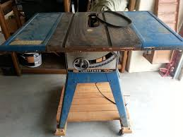 rebuilding a craftsman table saw the alternative to a new cheap