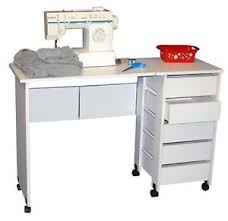 Sewing Machine With Table Mobile Folding Sewing Machine Craft Table Home Sewing Table With