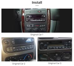 gray jeep grand cherokee 2004 android 7 1 1 radio bluetooth touchscreen for 1999 2004 jeep grand