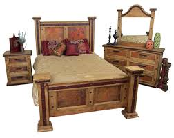 Rustic Furniture Bedroom Sets - stunning rustic bedroom suites photos trends home 2017 lico us