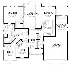 100 floor plans rambler house plan walkout basement plans