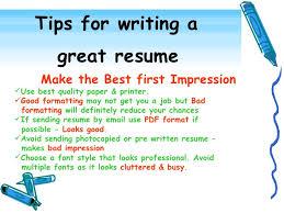 wonderful resume writing tips 12 effective resume writing resume