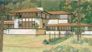 Frank Lloyd Wright Style House Plans Frank Lloyd Wright Curbed