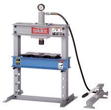 dake b 10 model manual utility hydraulic bench press 10 ton