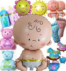 balloons birthday delivery baby shower party favors foil balloons new born baby happy