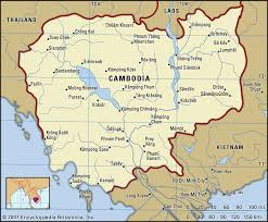 Map Of Cambodia Marco Carnovale August 2002