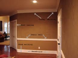interior wall trim moulding home decor interior exterior modern at