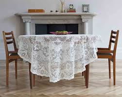cotton lace tablecloths imported from scotland derby