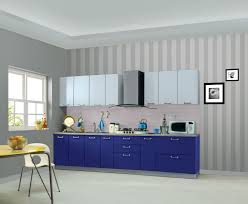 Full Wall Kitchen Cabinets by Kitchen Island Fabulous One Wall Single Wall Kitchen Design Brown
