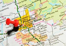 Arizona City Map by Phoenix Arizona City Stock Photos Royalty Free Phoenix Arizona