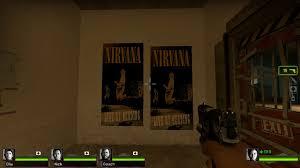 nirvana concert posters left 4 dead 2 u003e skins u003e map props u003e signs