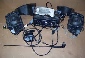 complete radio kit w front speakers