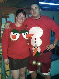 christmas hers matching christmas jumpers matching his n hers parent