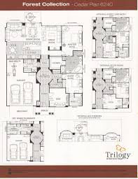 plan collection trilogy at redmond ridge forest collection floor plans