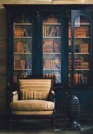 Black Billy Bookcase Love The Lighting And These Black Bookcases So Rich And Inviting