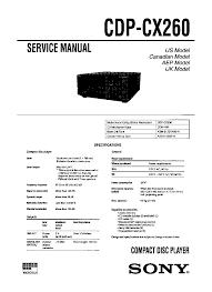 sony cfs 1020 sm service manual download schematics eeprom