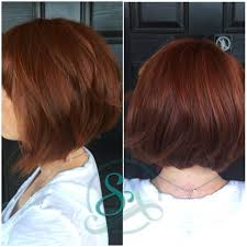 chin cut hairbob with cut in ends red hair bob cut red balayage for fall short hair cuts and