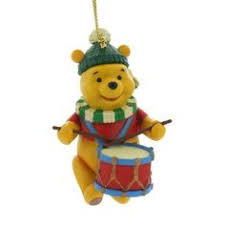disney magic grolier tree ornament figurine winnie the
