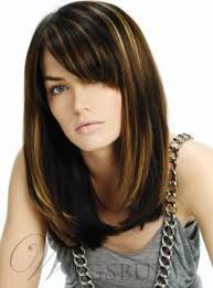 lob hairstyle pictures hight quality mid length straight lob hairstyle capless synthetic