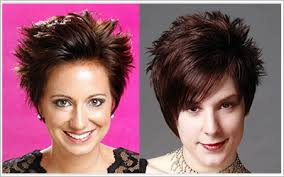 short hairstyles with height spikey hairstyles for women over 50