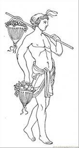 roman gods coloring pages