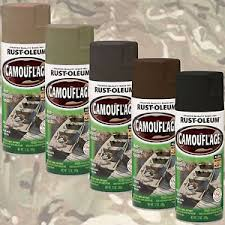 rust oleum camouflage ultra flat camo spray paint khaki green