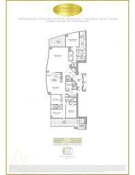 Plan 888 15 by The Estates At Acqualina Sunny Isles Beach Florida