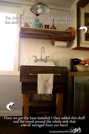 Kitchen Sink Base How To Build Your Own Rustic Kitchen Sink Base Country Diy