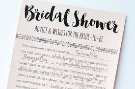 bridal shower words of wisdom cards bridal shower advice cards printable bridal shower advice