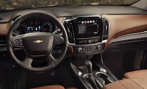 ford bronco 2018 interior 2018 chevrolet traverse pricing specs release date and redesign