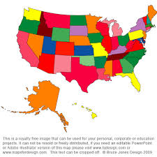 map usa color usa color map with states usa50statecolora thempfa org