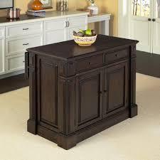 kitchen islands oak home styles prairie home black oak kitchen island with storage