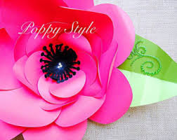 diy paper rose flower templates and svg by catchingcolorflies