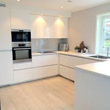 white gloss kitchen floor cupboard pros and cons of high gloss kitchen tiles designer kitchens