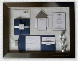 wedding pocket invitations modern wedding invitation suite treasured paperie royal blue