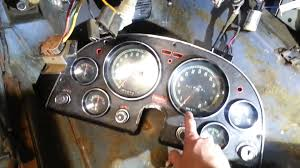 corvette dashboard 1966 corvette instrument cluster removal youtube