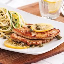cuisiner escalope de veau escalopes de veau piccata recettes cuisine et nutrition