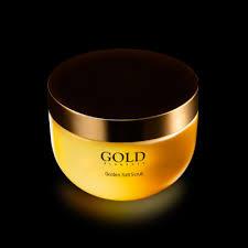 Scrub Gold golden salt scrub gold elements