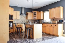 colors for kitchen walls with maple cabinets kitchen reveal 5 problems and easy solutions ideas for