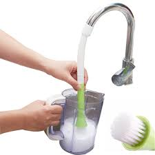 Clean Kitchen Faucet Aliexpress Com Buy Kitchen Faucet Hanging Wool Clean Brush To