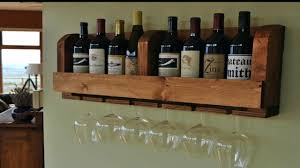 diy wine rack pallet climate controlled wine cellar with wooden