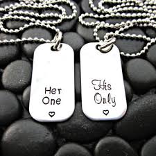 his and hers dog tags shop his tag on wanelo