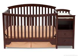 Cribs With Attached Changing Table by Sonoma Crib N Changer Delta Children U0027s Products