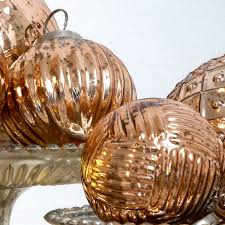 gold mirror glass baubles uk united furnishings