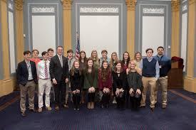 Wesleyan students travel to washington d c for inauguration