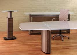 Frosted Glass Conference Table Modern Conference Room Furniture Stoneline Designs