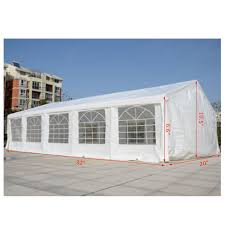 Outdoor Carport Canopy by Aosom Outsunny 33 U0027x20 U0027 White Heavy Duty Carport Party Tent