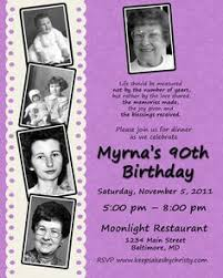 sample 80th bday invite party ideas pinterest custom